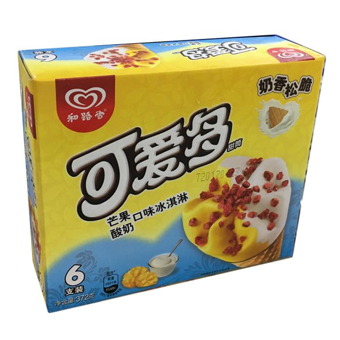 可爱多甜筒(芒果酸奶口味)多支装372g